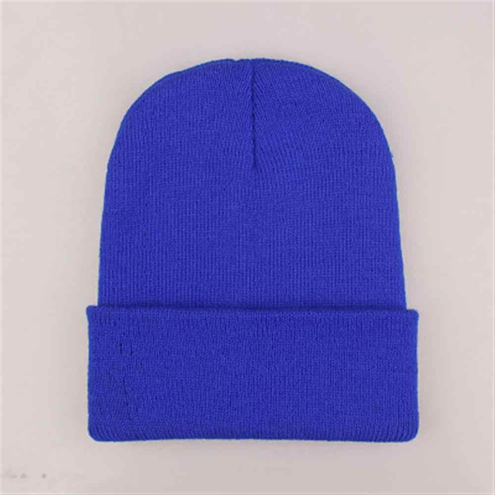 2019 chapéus de inverno quente para a mulher beanies malha sólida bonito chapéu meninas outono feminino gorro bonnet mais quente senhoras casual boné