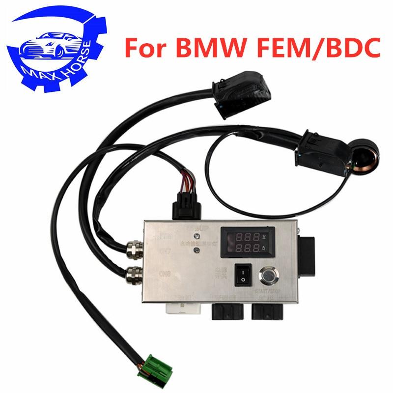 Plate-forme d'essai de Module FEM BDC pour BMW F20 F30 F35 X5 X6 I3 FEM Module BDC 14V 5A dédié pas besoin de démarrage-bouton d'arrêt