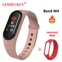Smart Wristband Smart Activity Tracker M4 Smart Bracelet Smart Band 4 Heart Rate Fitness Tracker Smart Watch for Men Women