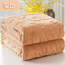 blankets for beds  100% Polyester Embossed Picnic Home couch cover bed winter fur Christmas gift