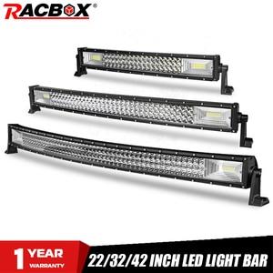 Image 1 - LED Bar for UAZ 4x4 offroad 22 32 42 inch LED Light Bar 324w 459w 594w Spotlight LED Beam 12V 24V fog headlights LED Work light