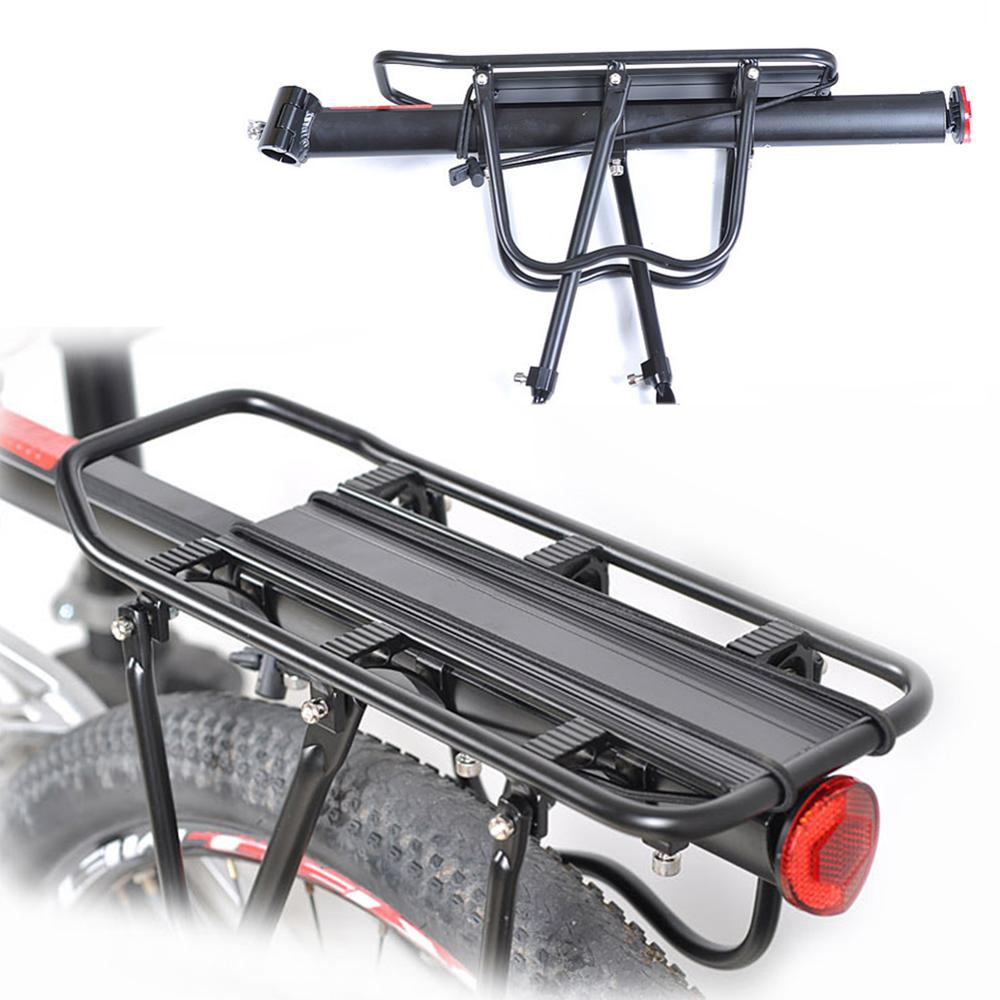 Alloy Bike Bicycle Cycling Rear Rack Pannier Back Seat Luggage Bag Carrier