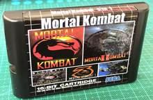 Mortal kombat 5 in1 para sega mega drive 16 bit md cartão de jogos para sega mega drive para genesis