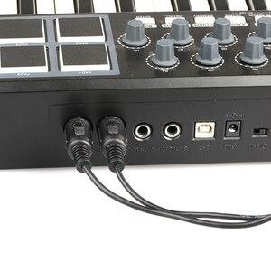 Кабель-переходник DOREMiDi-USB C, конвертер MIDI с индикатором для MacBook, Android