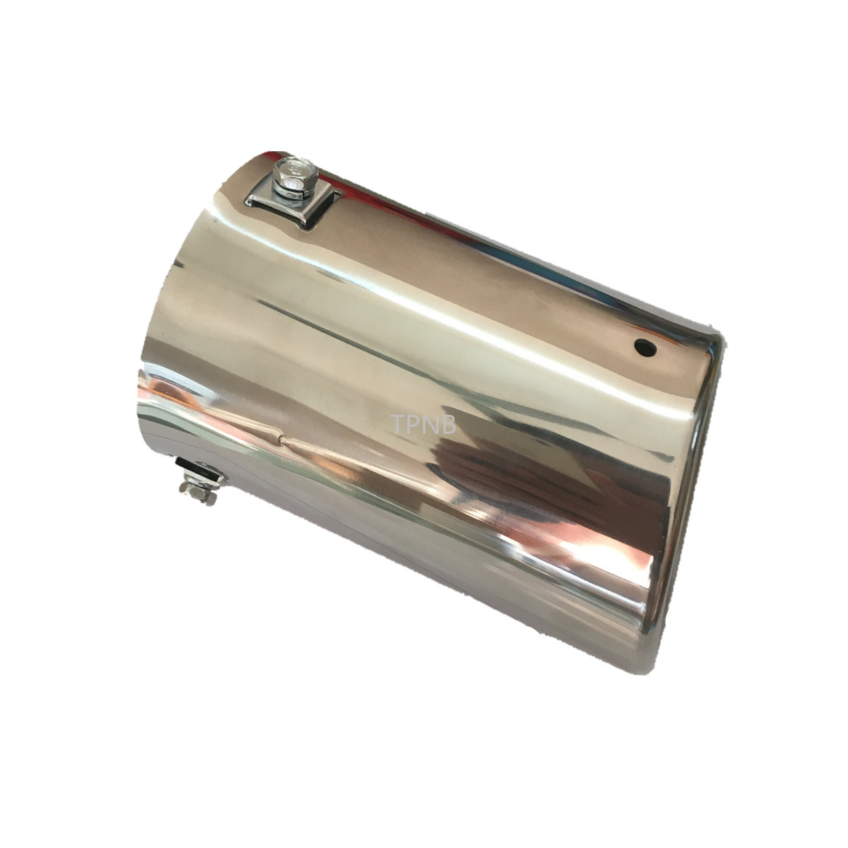 Stainless Steel Exhaust Pipe Tail Throat for <font><b>Toyota</b></font> <font><b>Land</b></font> <font><b>Cruiser</b></font> <font><b>Prado</b></font> <font><b>120</b></font> 2003 2004 2005 <font><b>2006</b></font> 2007 2008 2009 Accessories image
