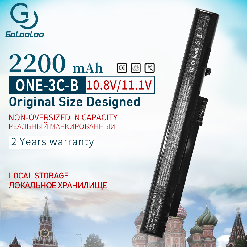 Golooloo 11.1V Battery UM08A31 For Acer Aspire One A110 A150 D150 D210 D250 ZG5 UM08A32 UM08A51 UM08A52 UM08A71 UM08A72 UM08A73