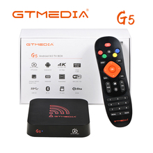 NEW G5 Android 9.0 4G 64G TV BOX 4K Youtube Google Assistant