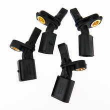 HONGGE Qty 4 NUOVO ABS Sensore di Velocità della Ruota Per A2 VW Polo 6R 6C 9N WHT003860 WHT 003 861 WHT 003 862 WHT003863