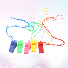 50Pcs Whistle Referee Coaches Training Sport Whistle Kids Children Gift Party Favor Mixed Color