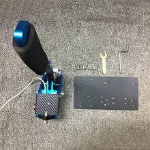 Universal drift handbrake placa adaptador para logitech g27 g29 jogo de corrida a vapor simulação suporte acessórios