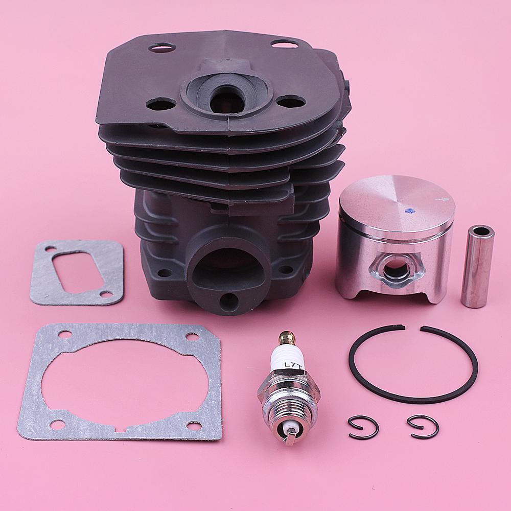 44mm Cylinder Piston Kit For Jonsered CS2153 CS2152 CS2150 CS2149 Chainsaw Muffler Gasket Ring Circlip Motor