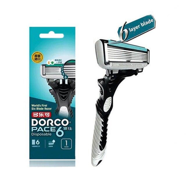 Станок для бритья DORCO Pace 6, 1 шт 1