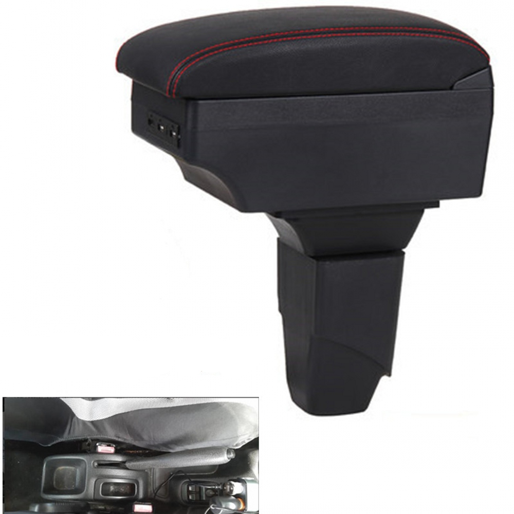 For <font><b>PEUGEOT</b></font> <font><b>206</b></font> <font><b>armrest</b></font> box central Store content box car-styling Storage Center Console products interior accessories image