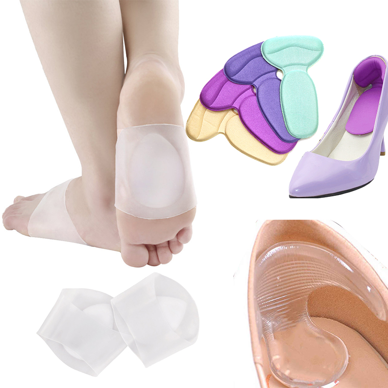 Bunion Corrector Separator Toe Protector Gel Silicone High Heel Shoes Pad Forefoot Insoles Toe Corrector Adjuster Foot Care Tool