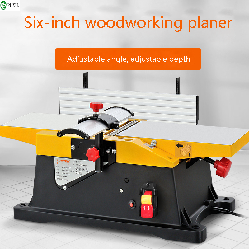 Woodworking Multi-Function Electric Planer Desktop Woodworking Electric Planer Household Electric Tools Small Electric Planer