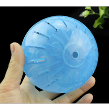 1 pc Plastic Pet Rodent Mice Jogging Ball Toy 10cm Hamster Gerbil Rat Exercise Balls Play Toys For hamster Funny