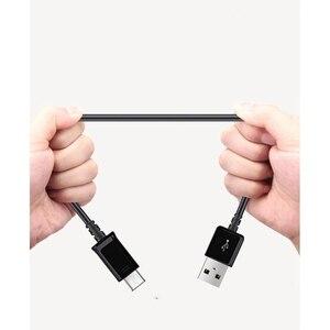 100% оригинальный кабель Samsung типа C для Galaxy s10 s10E S8 S9 PLUS NOTE 10 9 8 A3 A5 A7 2017, кабель для передачи данных, кабель для быстрой зарядки 1,2 м|Кабели для мобильных телефонов|   | АлиЭкспресс