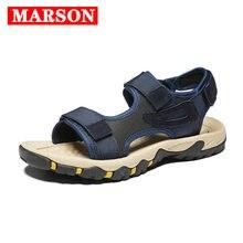 Мужские сандалии качественные летние пляжные шлепанцы; Повседневная