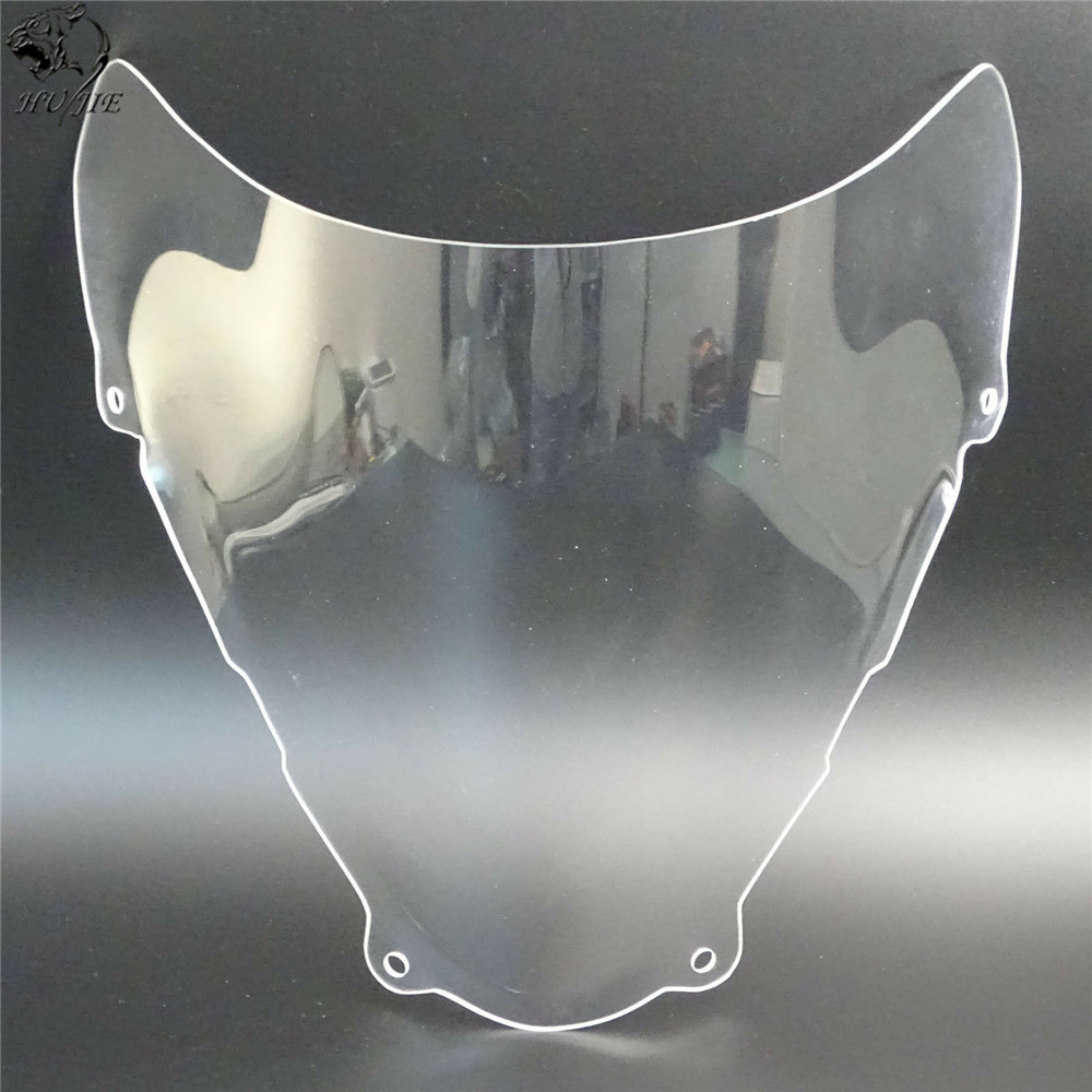 Image 4 - For Suzuki SV650 SV650S SV 650 650S 1999 2000 2001 2002 Double Bubble Windscreen Windshield Shield Screen-in Windscreens & Wind Deflectors from Automobiles & Motorcycles