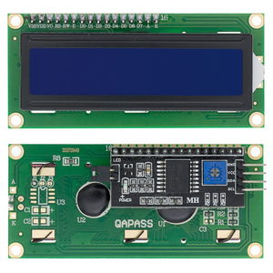 Image 3 - 10pcs LCD1602+I2C LCD 1602 module Blue /yellow green screen IIC/I2C LCD1602 IIC LCD1602 Adapter plate