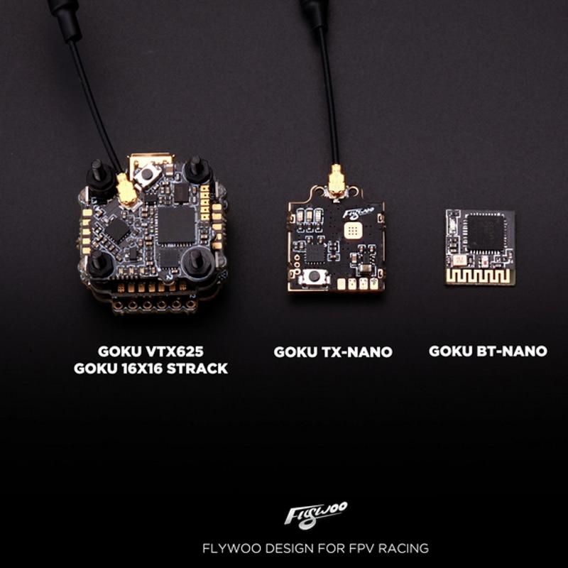 Flywoo GOKU TX-NANO VTX 48CH 5V PIT/25/50/100/200/450mW IRC FPV Transmitter Switchable For FPV Racing RC Drone Toothpick