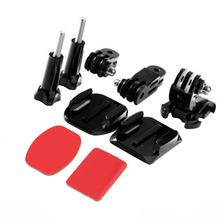 HOT SALE! NEW Adjustment Curved Adhesive Helmet Front Mount Kit for GoPro Hero 2 3,IN STOCK!(China)