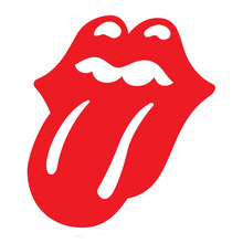 13.5*15.2CM Whimsy Rock Roll Vinyl Car Stickers Mouth Decals Decorations Lips Tongue Accessories Black/White/Red for OPEL Ford