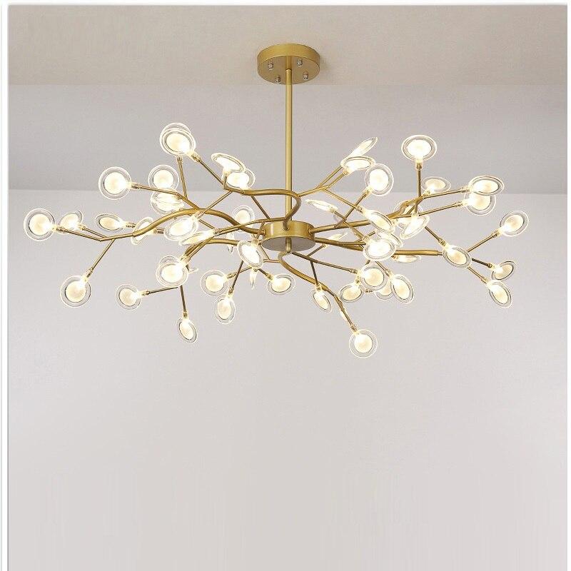 Современный Светлячок светодиодный светильник люстра стильная ветка дерева люстра лампа декоративный Светлячок потолочный светильник подвесной светильник ing