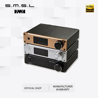 SMSL Q5 Pro Hi-Fi Audio Powerเครื่องขยายเสียง 2X45WควบคุมUSB COAXIAL OPTICAL Input 192KHZ 44BitสีBlack Gold Gold