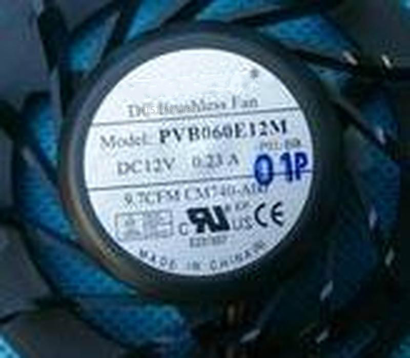 For FORCECON PVB060E12M M740-A00 DC 12V 0.23A 4-wire Server Cooler Fan Free Shipping