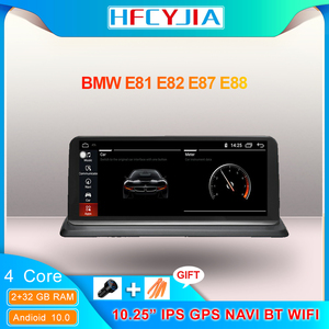 Android 10 System Car Screen Player For BMW E87 E81 E82 E88 2005-2012 WIFI Google BT 2+32G IPS Touch GPS Navi Stereo Multimedia
