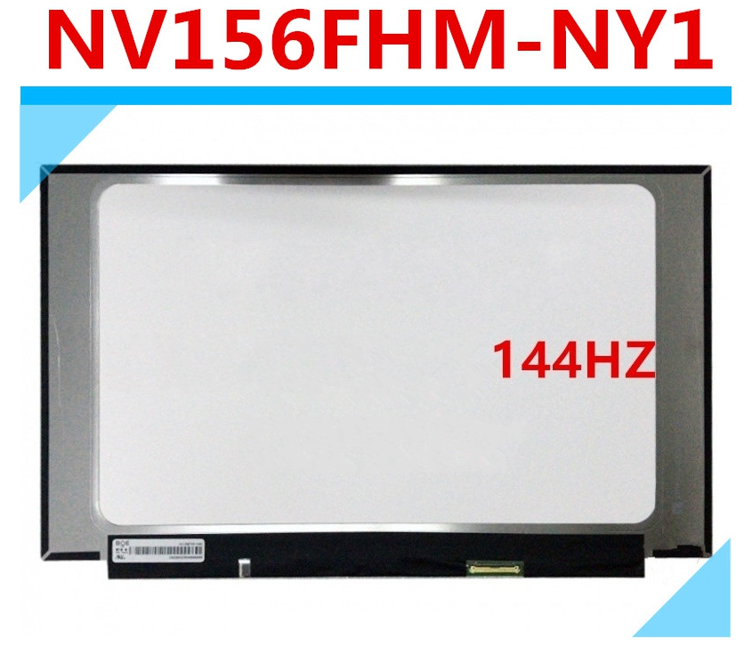 Laptop Lcd Display for Dell G5 15 5590 NV156FHM-NY1 FHD IPS LCD Screen Display Panel 144Hz 30 Pins Without Touch