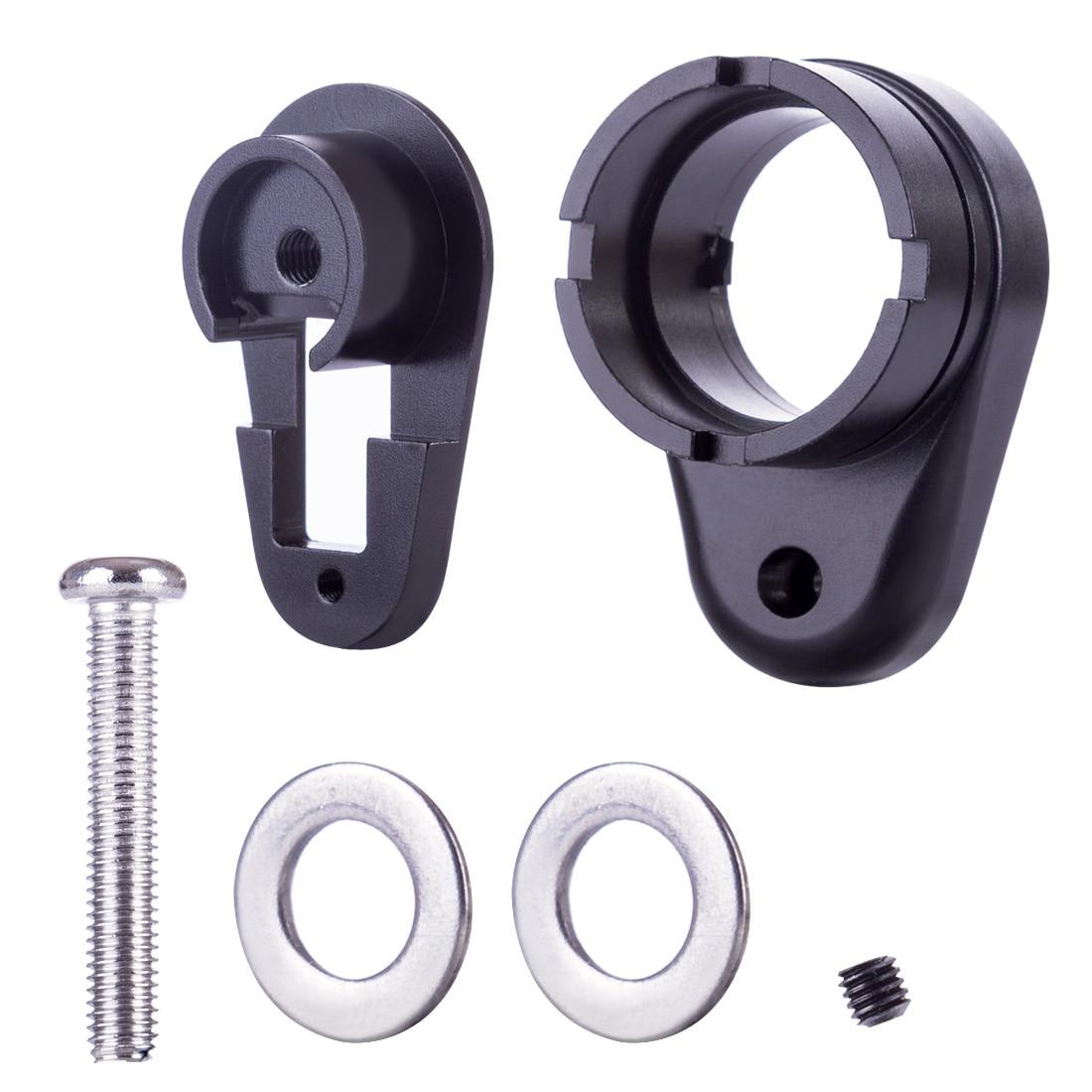 XWE M4 Stock Core Adaptor Quick Release Version For XWE M4 Water Gel Beads Blaster Modification Upgrade - Black