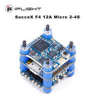 iFlight SucceX F4 V1.5 Mini Flight control Tower 2-4S with 12A Micro 4 in 1 ESC/PIT/25/100/200mW VTX for FPV Racing drone