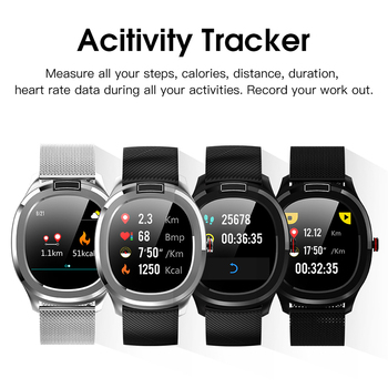 "Smart Watch Bluetooth 4 Health Tracker 1.3"" Touch Screen Music Control Message Sleep Reminder For Android For IOS Multiple Modes"