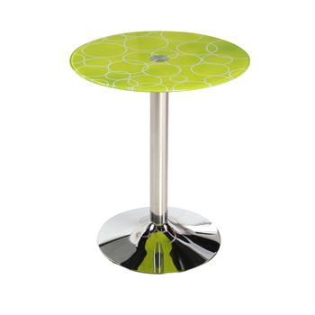 Fashionable  Round Toughened Glass Tea Tabley Coffee Tables Furniture Recreational Storage Cabinet Mesas De Centro Mesinha