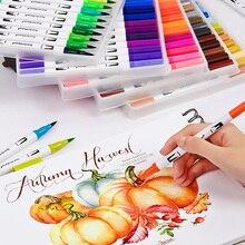 12/18/24/36/48/72/100 Colors WatercolorCopic Markers Pens Drawing Painting Graffiti Art Supplies Adult Manga Comic Calligraphy