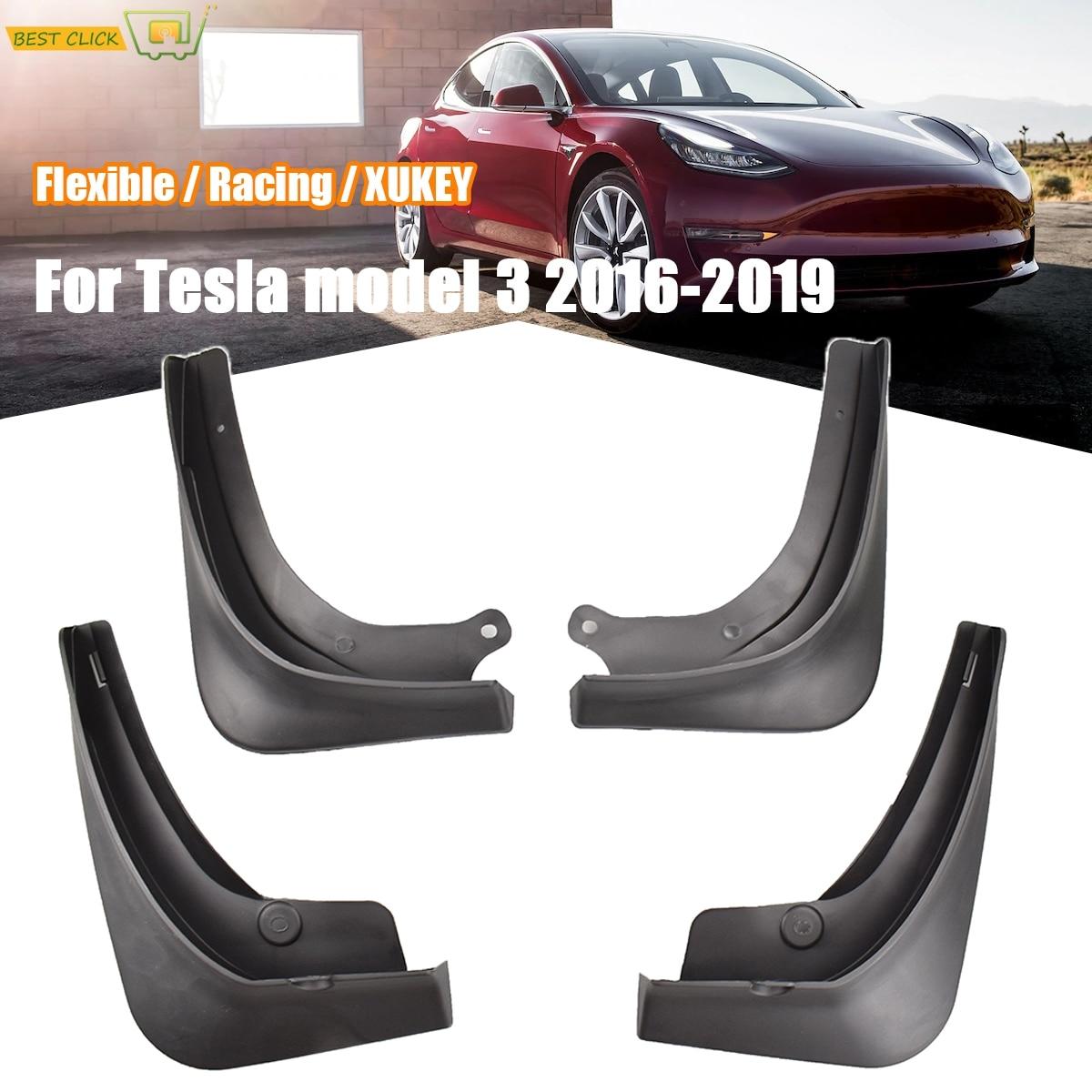 Литые Автомобильные Брызговики в стиле OE для Tesla Model 3 2016 2017 2018 2019, брызговики, щитки, Стайлинг автомобиля