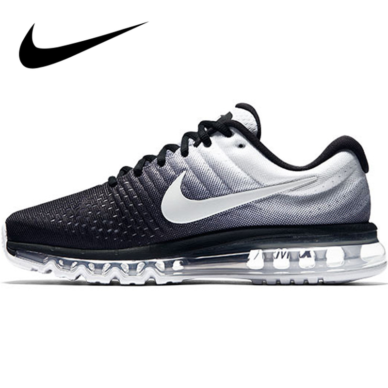Original Authentic Nike AIR MAX Men's Running Shoes Gradient Lace-up Durable Athletic Designer Good Quality Footwear 849559-010