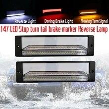 Brake Light Truck Waterproof LED Car Turn 2pcs for Trailer 147