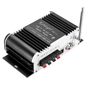 Image 4 - Kentiger Hy   V11 بلوتوث مكبر للصوت 2 قناة سوبر باس يا مكبر للصوت مع البعيد تحكم Tf Usb Fm 85Db Mp3 Fm راديو