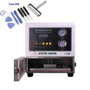 Tani samochodowy wyświetlacz LCD z regulacją wysokości LY 868 cyfrowa maszyna do laminowania OCA 13 cali 220V 110V