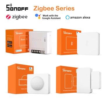 SONOFF Zigbee 3,0 ZBBridge Mini ZBMINI/беспроводной переключатель/Температурная Влажность/датчик движения/двери для Alexa Google Home|Смарт-гаджеты|   | АлиЭкспресс