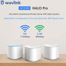 Беспроводной сетчатый Wi-Fi-роутер, 2,4G 5G AC2100