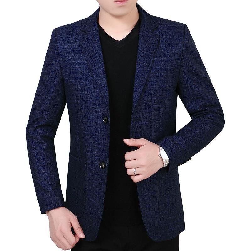 2020 Season Middle Age Men Suit Coat Business Men's Wear Leisure Dad Autumn Wool What About Suit Male