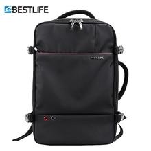 Bestlife luxo mochila de viagem mochila grande capacidade designer sacos para homens mulher anti roubo impermeável alta qualidade mochila