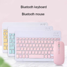 Mini Wireless Bluetooth Keyboard for Samsung Galaxy Tab S6 Lite 2020 Universal Tablet for iPad Phone Android Keyboard and Mouse