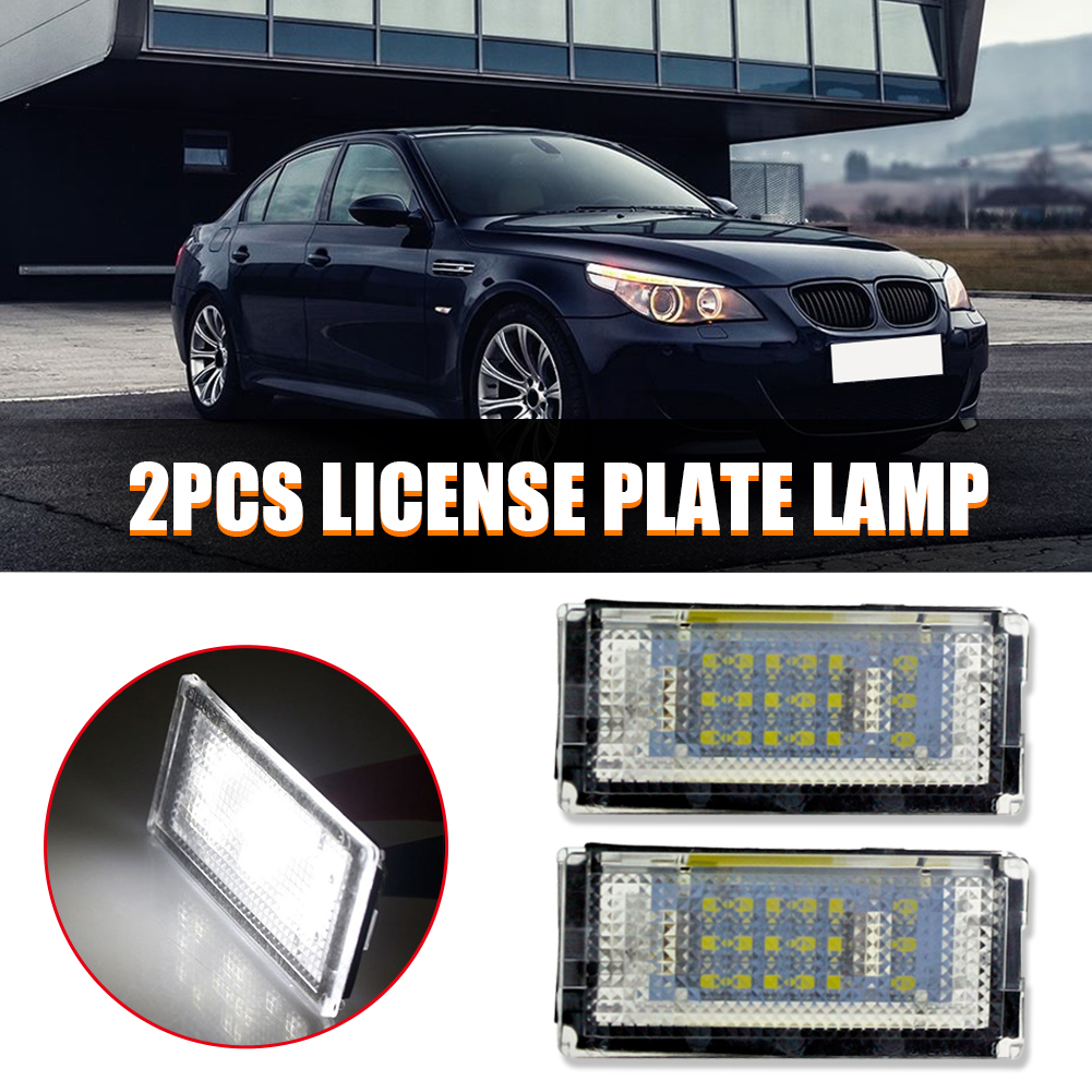 Licence Number Plate CANBUS LED Bulbs fit BMW 3 E46 E90