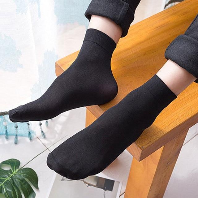 Тонкие мужские носки из бамбука 10 пар 3