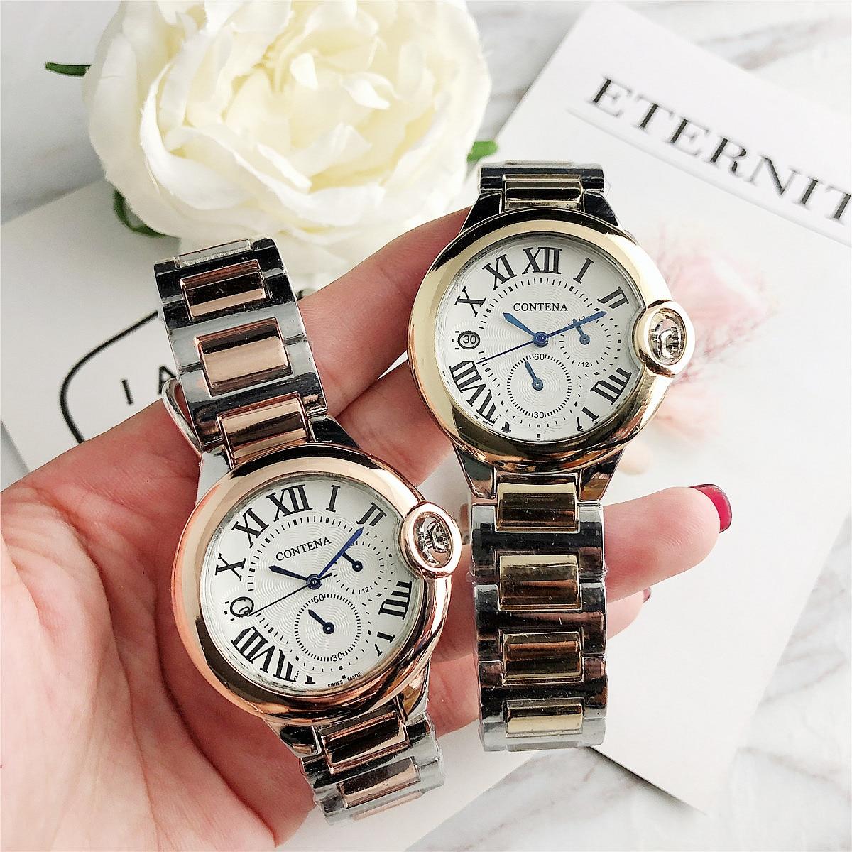 CONTENA Female Women's Wristwatches Quartz Watch  Ladies  Fashion Watch Clock Relogio Feminino Reloj Mujer